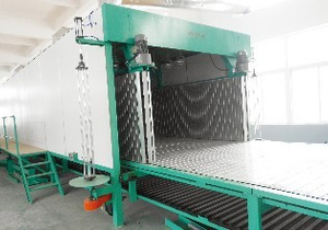 CONTINUOUS FOAMING PRODUCTION LINE ( BLXFP)